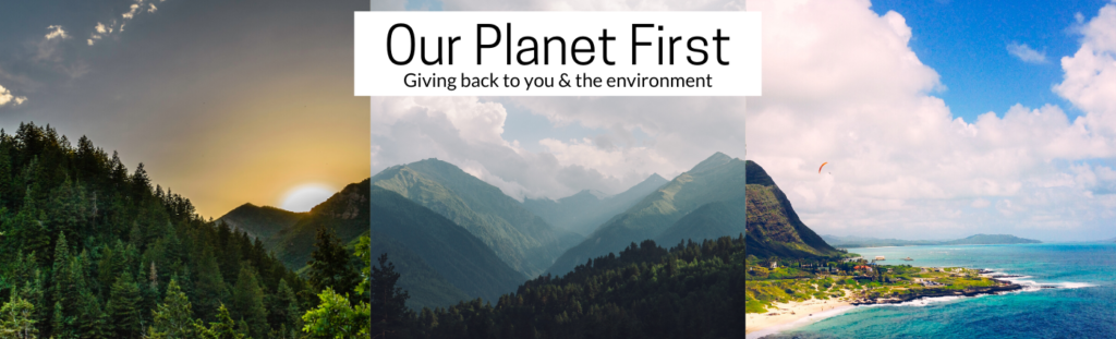 Our Planet First Web Banner