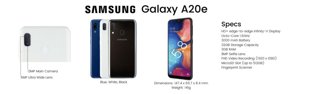 Samsung Galaxy A20E Repairs