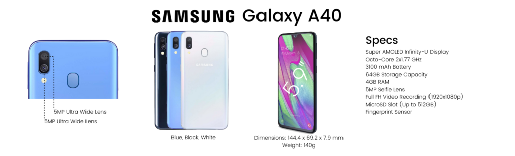 Samsung Galaxy A40 Repairs