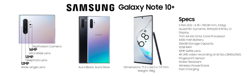 Samsung Galaxy Note 10 Plus Repairs