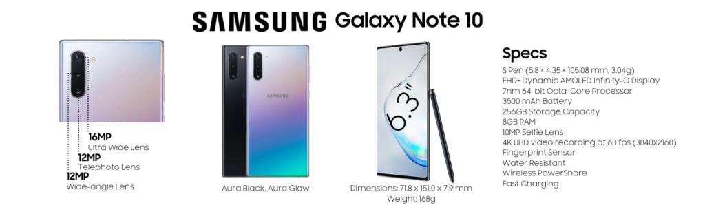 Samsung Galaxy Note 10 Repairs