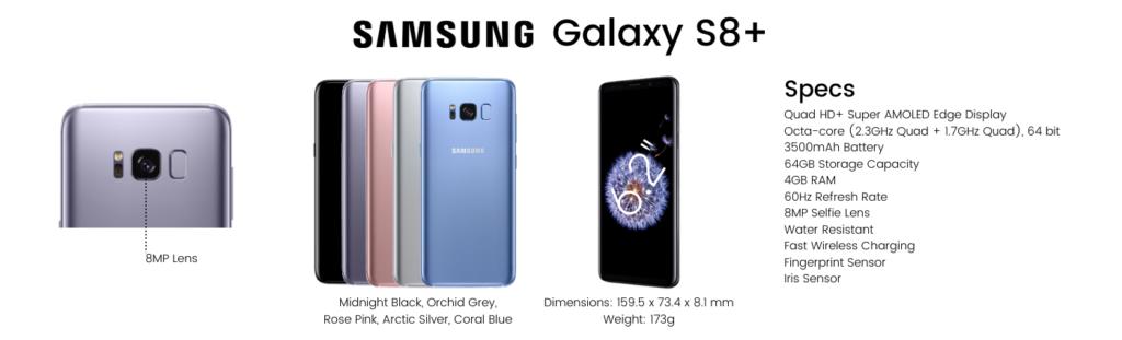 Samsung Galaxy S8 Plus Repairs