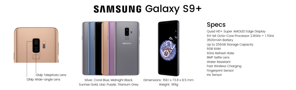 Samsung Galaxy S9 Plus Repairs