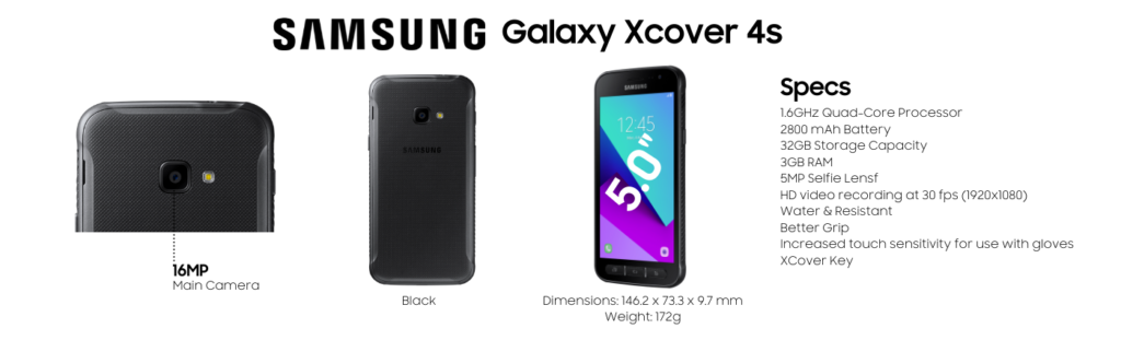 Samsung Galaxy Xcover 4S Repairs