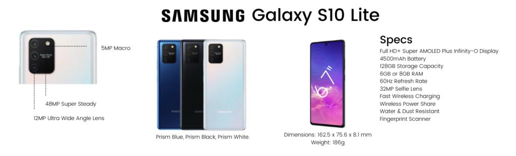 Samsung Galaxy S10 Lite repairs