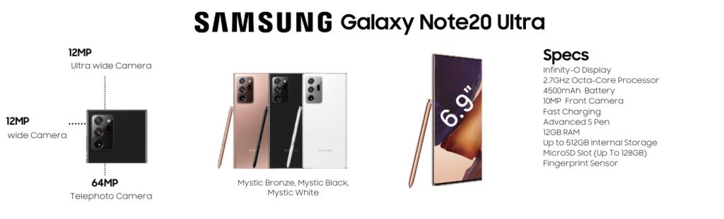 Samsung Galaxy Note20 Ultra Repairs